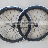 UDELSA Road 60mm Carbon Wheelset with alloy braking surface 25mm wide