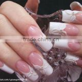 Clear, pink, White, Acrylic Powder For Dipping