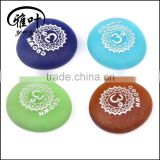 Wholesale Frosted Colorful Glass Stone Customized Engraved Inspirational Glass Stones Gift