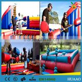 inflatable eliminator game wipeout game inflatable sports arena