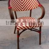 Cheap Rattan bistro chair french chair dining chair outdoor furniture                                                                         Quality Choice