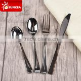 Disposable plastic cutlery set in silver finish                                                                         Quality Choice