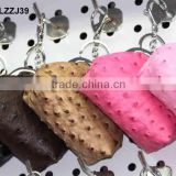 leather bag shaped keychain LZZJ39