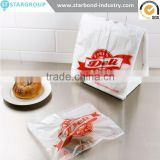 plastic saddle pack printed DELI fresh slider block bag