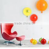 Modern glass wall fitting, Colored Memory balloon bracket light