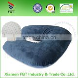 2015 Hany U shape pillow with blue cover