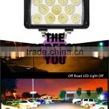 Bright 33w 12v Automobile Car Accessory 4x4 LED Headlight rectangle LED Work Light for offroad ATV UTV