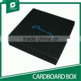 MATT BLACK HIGH END CARDBOARD BOXES FOR JEWELRY PACKAGING WITH CUSTOM LOGO                                                                         Quality Choice
