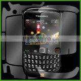 ACS-06 Scratch Proof Invisible Full Body Screen Protector Guard For Blackberry Curve 8520 8530