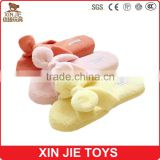 custom made winter indoor slipper cheap plush slipper 2015 hot selling plush slippers