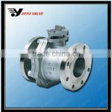 API Flanged Floating WCB cast steel cs ball valve