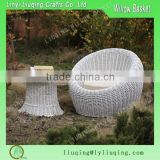 2016 Round white Handmade wicker garden sofa set/Outdoor rattan furniture garden furniture/ Cheap sofa bed                                                                                         Most Popular