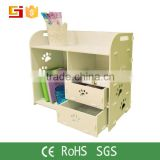 High Quality Office Desktop Sundry Organizer Table Top Cosmetic Organizer box with drawer
