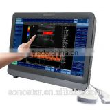 C8 large 22inch touch screen color doppler ultrasound equipments(hosipital and teach, meeting, science use device)