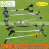 Trash litter vacuum cup hand reacher pick up stick picker grabber grabbing tool long grabber