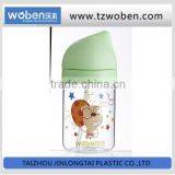 China wholesale baby drinking bottles with silicone straw China supplier