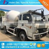 3.5/4 cbm 4X2 yuejin light concrete mixer truck/mini concrete mixer/mini concrete mixer trucks