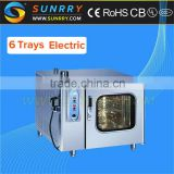 Commercial Steam Oven Professional Industrial Steam Oven 6 Trays Combi Steam oven (SY-CV6C SUNRRY)