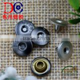 Popular Decorative Rivet Button Metal Jeans Button Rivet Accessories for Leather Belt Rivets