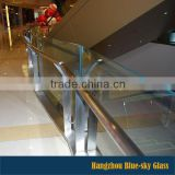 LTAA 6.6.4 China factory tempered laminated glass for deck railing or balustrade