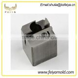 China mould factory custom steel fabrication spare parts in injection plastic mould