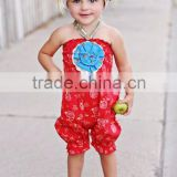 2016 new hot sale mustard pie remake girls boutique clothing sets