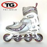 inline speed skate for sale Aluminum fram Roller skates shoes bearing Carbon ABEC-5 China Manufacture
