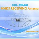 Receiving dish antenna,audio video sender transmitter & receiver, MMDS RECEIVING Antenna COL-MRA01
