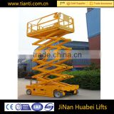 Made in china trade assurance full automatic scissor drive motor hydraulic lift elevator