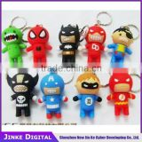 Spider Bat man superman 2.0 8gb 16gb usb flash drive give away gift usb 3D Printing 32gb 64gb