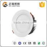Die casting Aluminum housing material Dimmable Antiglare 12W 24W 36W Bridgelux chip SMD LED Downlight