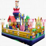 Outdoor Commercial Use Inflatable Fun City and Park for Kids Amusement