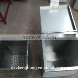 120 Liters good quality good price poultry scalder /quail slaughtering machine with water tap and basket/chicken