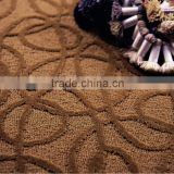 hotel hospitality ,commercial Wool carpet with floral pattern