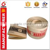 Custom printing Logo No Thread No residue glue kraft paper tape water for Steady packing