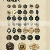 Natural Coconut Button Bulk in Different Size and Shapes as Garment Accessories for Clothing/Shirt
