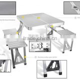 Modern Table And Chair Set Metal Outdoor Cheap Dining Room Camping Plastic Folding Table