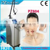 Pigmented Spot Removal 2014 PZ LASER Good Medical Use Stretch Mark Removal Fractional Co2 Laser Scar Removal Beauty Equipment Professional Remove Tiny Wrinkle