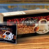 Cappuccino Instant Coffee Powder, spore extract/ganoderma extract coffee with cappuccino flavor