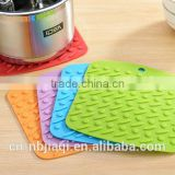Candy Color Silicone Pot Holder, Trivet Mat, Jar Opener, Spoon Rest and Garlic Peeler, Heat Resistant Hot Pads,