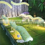 2015 New Forest Department arches road lead wedding decoration petal wave road lead flower door