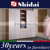 double color wardrobe design furniture bedroom / wardrobe for kids / clothes wardrobe F-7