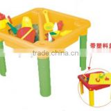 Hot sale kids sand box/sand play tables/sand tools