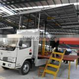 China dongfeng 4x2 brand new cheap stage truck