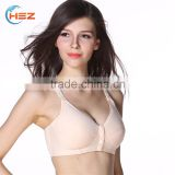 HSZ-MDSM9622 New Design Ladies Traditional Push-Up Bra Mature Women Breathable Sexy Hot Cotton Camisole Bra