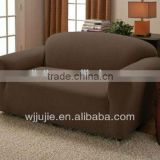 stretch suede sofa cover with elastic