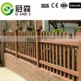 No glue low maintenance wpc fence & railing with high quality