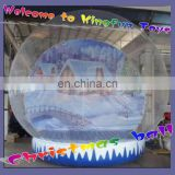 Winter inflatable festival ball for Christmas
