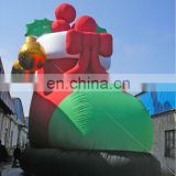 inflatable Christmas stocking/inflatable Christmas sock