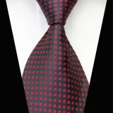 Weave Pink Mens Silk Necktie Extra Long Adjustable